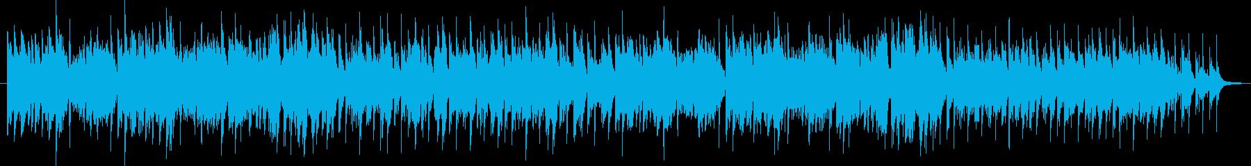 マリオ系bgm雪コースの再生済みの波形