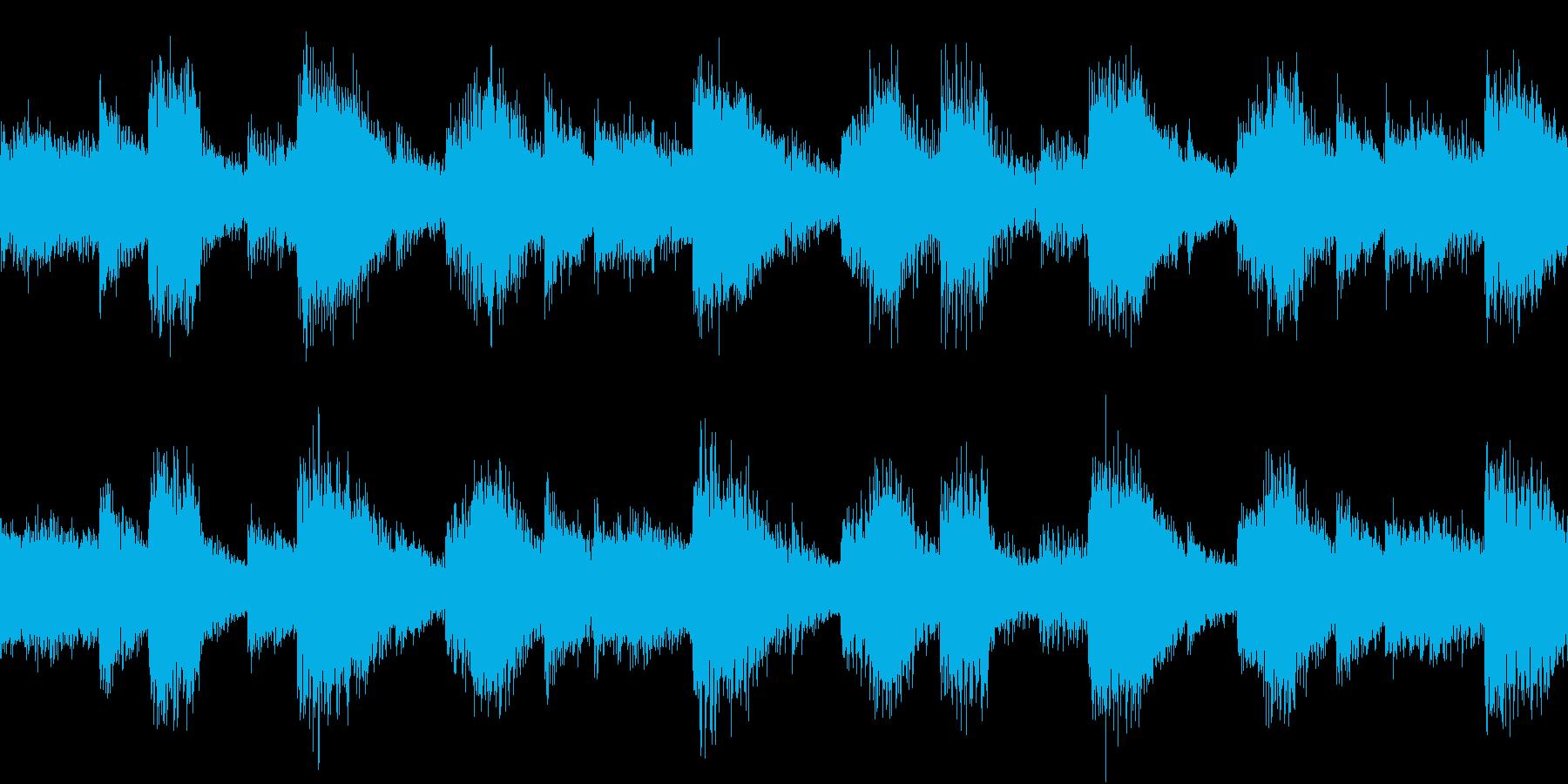EDM Lead Loop BPM128の再生済みの波形