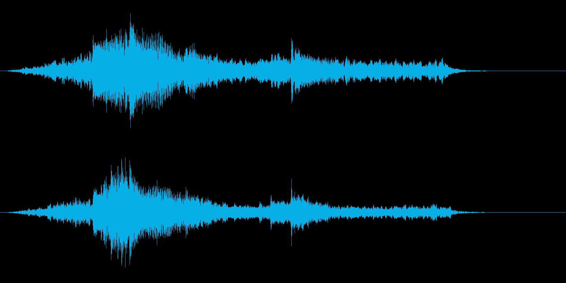 映像用BGM_ショッキング2の再生済みの波形