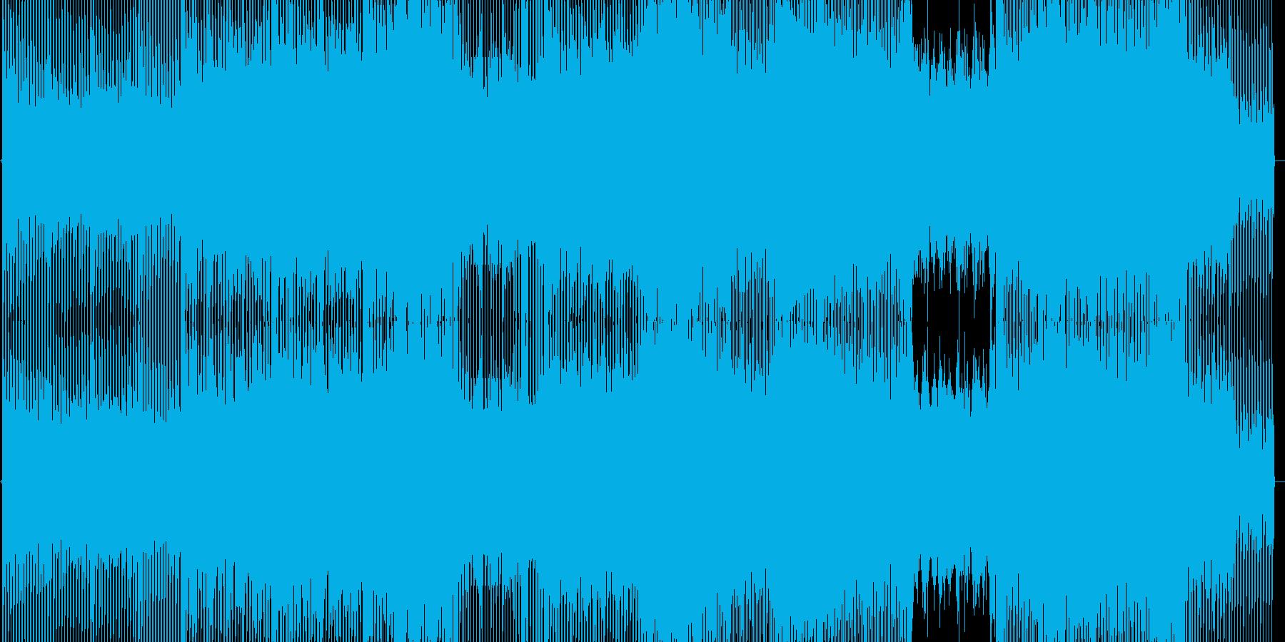 銀河的なトラック1の再生済みの波形