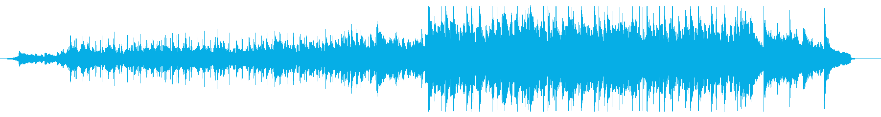 90秒CM用、ポップ、落ち着いた曲調の再生済みの波形