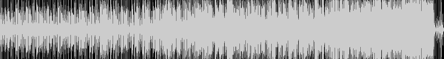 秋の切ない懐かしさのピアノメロディの未再生の波形