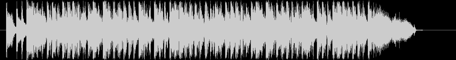 クール&グルーヴィなファンクサウンドロゴの未再生の波形