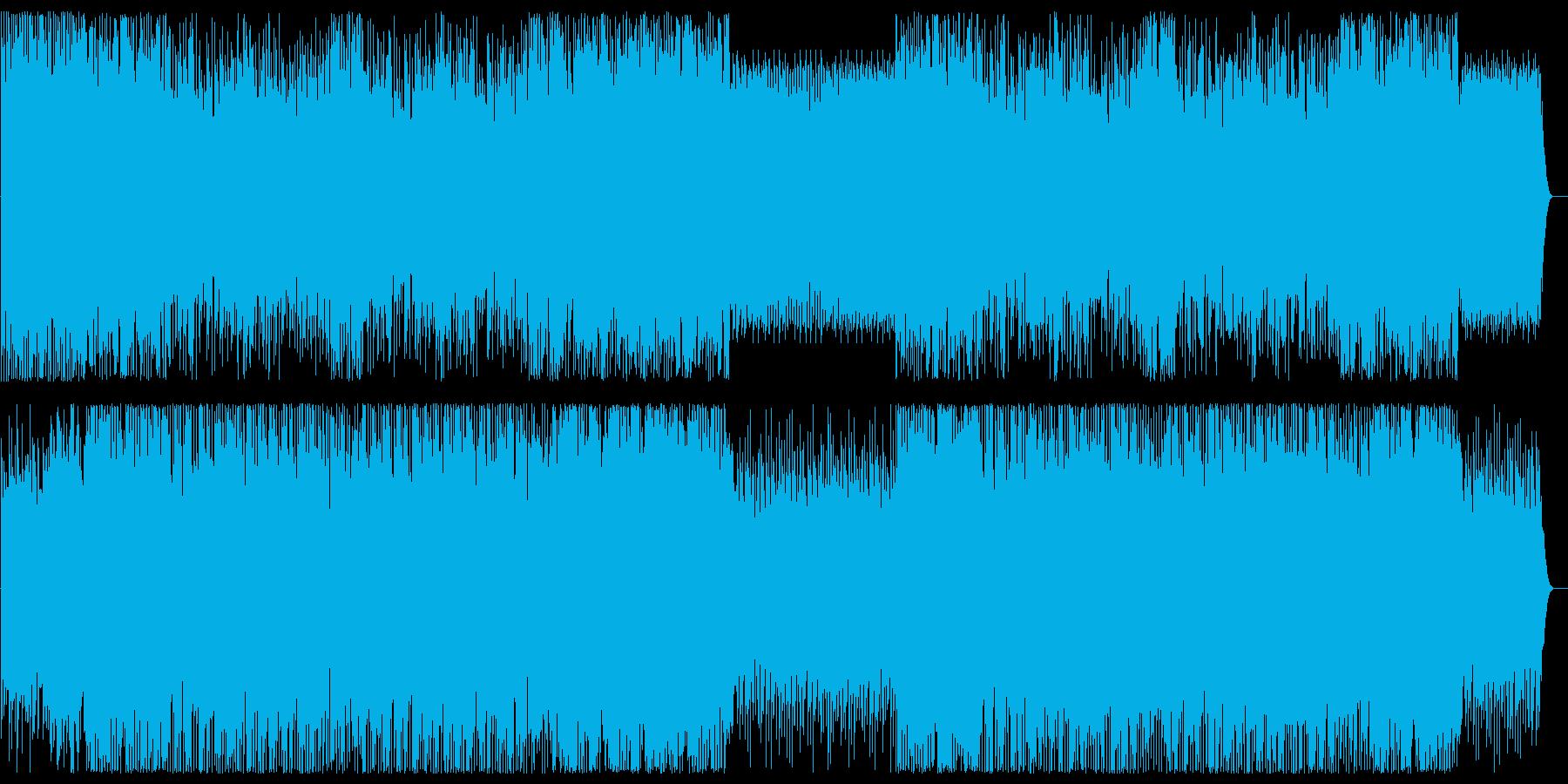 琴の音色が日本風なポップスの再生済みの波形