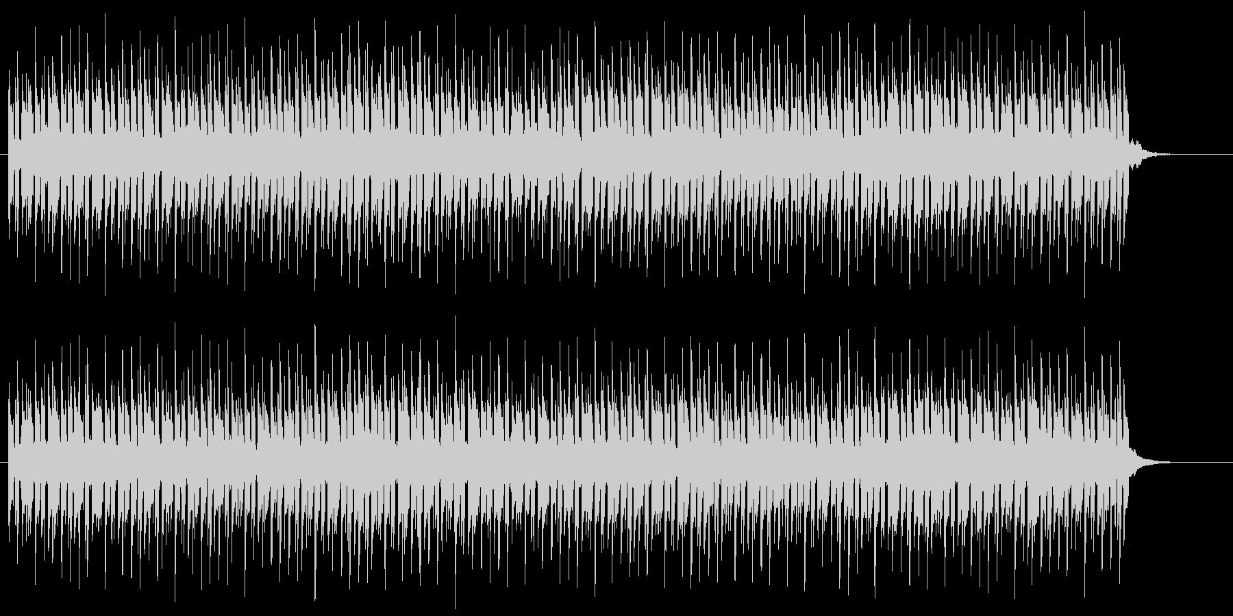 リザルト画面やメニュー選択のBGMの未再生の波形