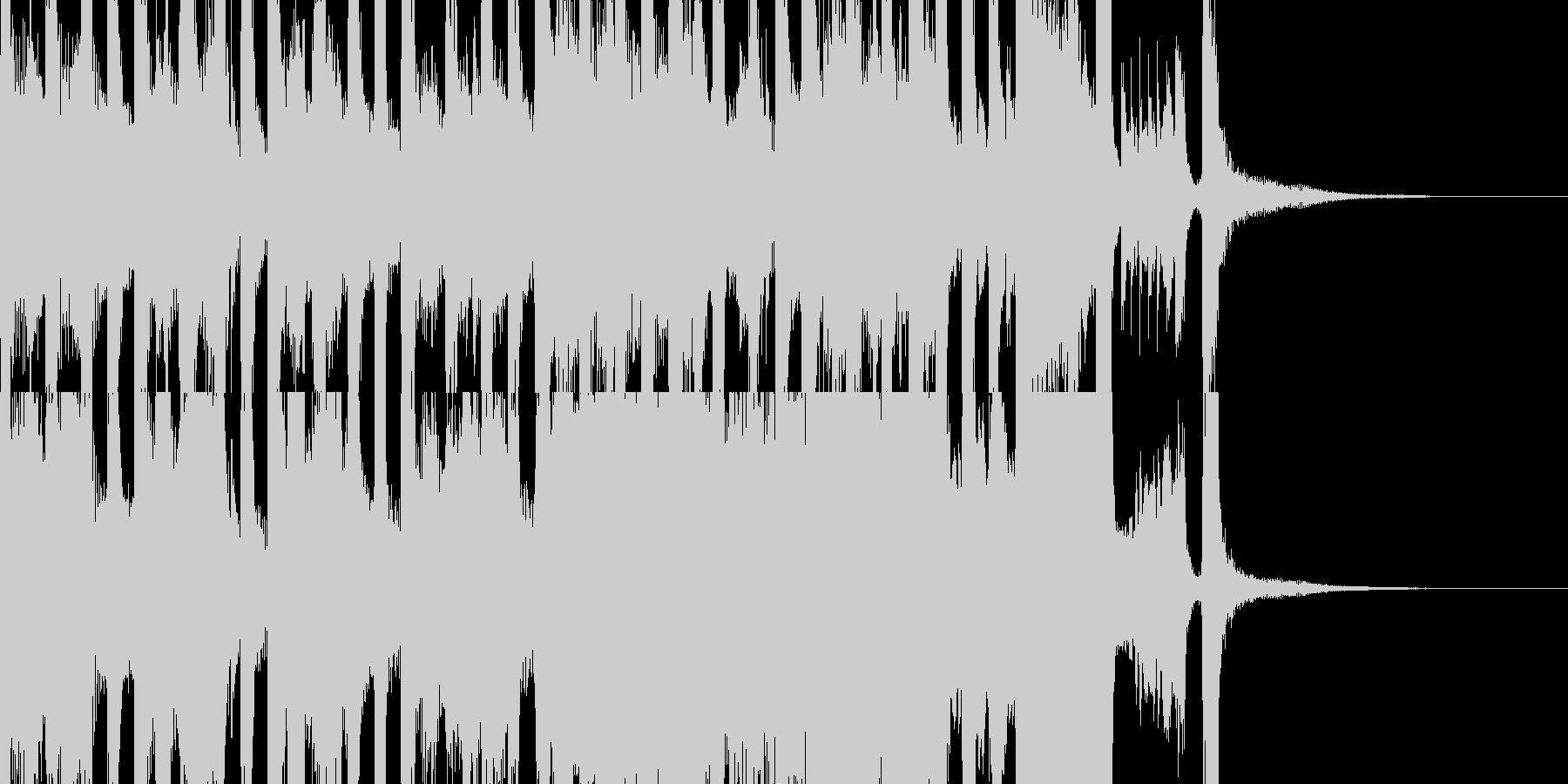 ファンタジーで不思議な絵本的ワルツ 短編の未再生の波形