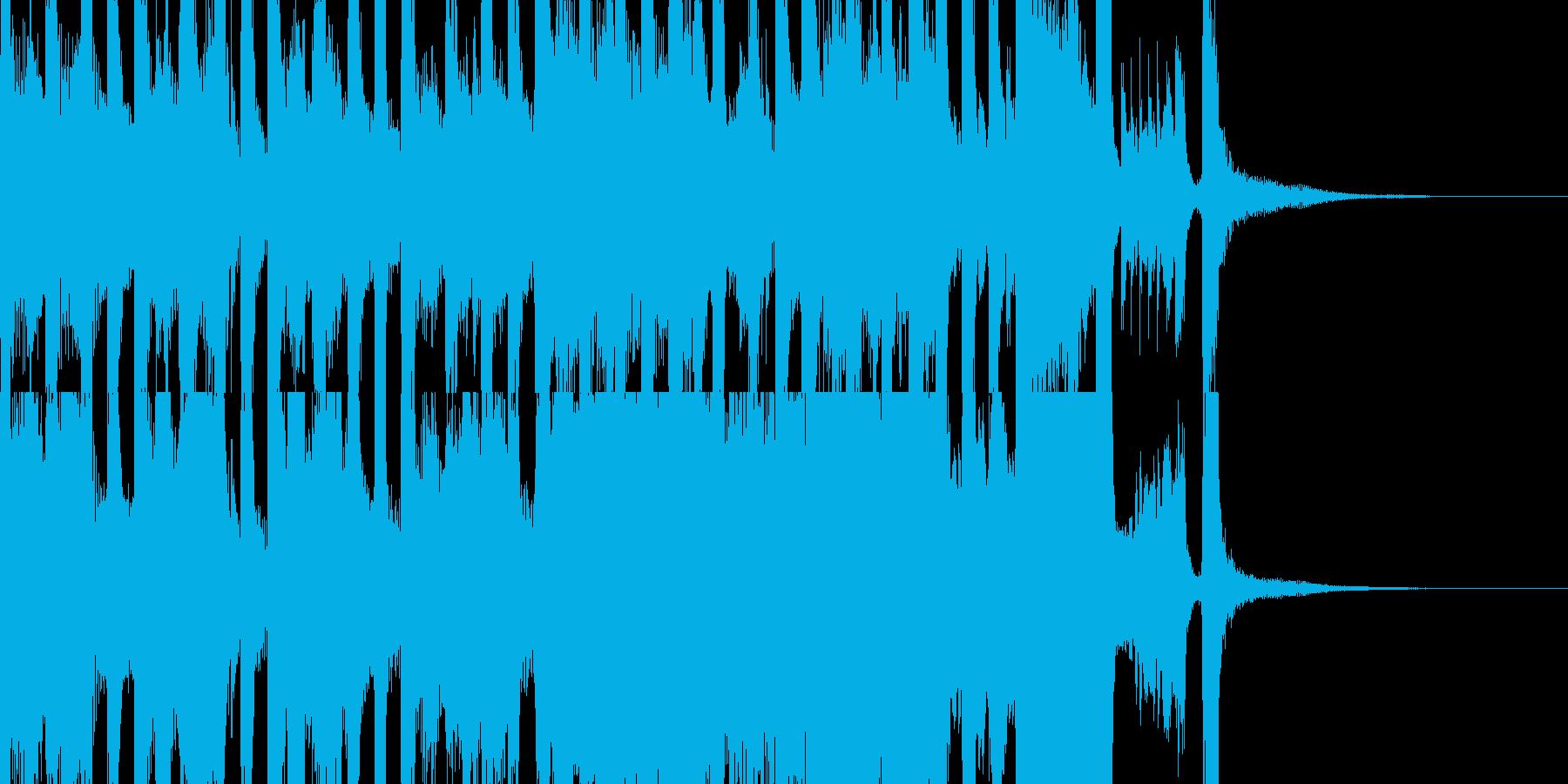 ファンタジーで不思議な絵本的ワルツ 短編の再生済みの波形