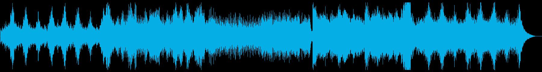 神秘的で近未来的なシンセポップサウンドの再生済みの波形