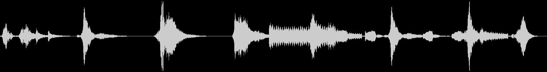 ホラー系 金属音etcの未再生の波形