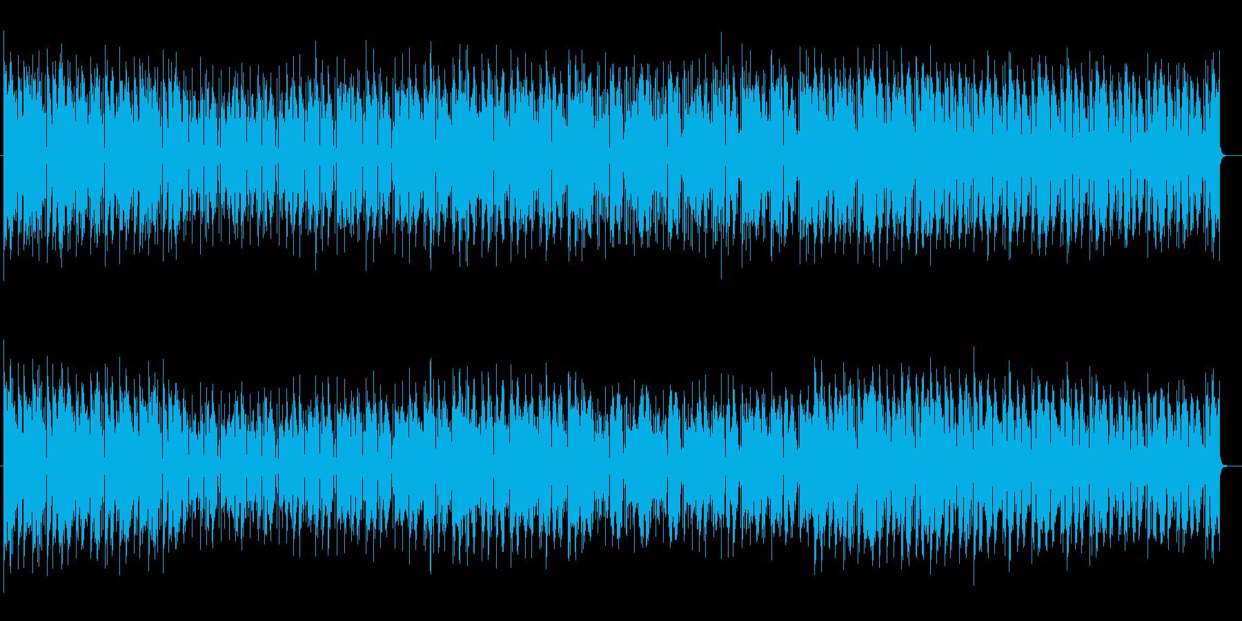 切迫感があるかっこいいミュージックの再生済みの波形