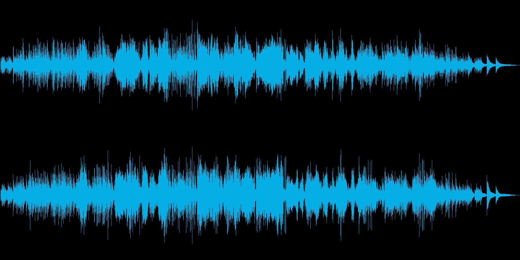 ショパンの子守歌の再生済みの波形