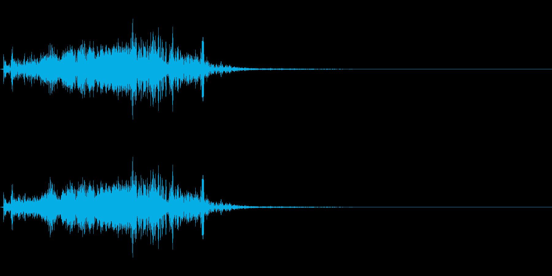ズオーン!という大砲からのビーム発射音…の再生済みの波形