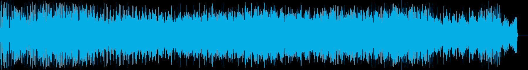 ダウンテンポにノイズを絡ませた曲 かっ…の再生済みの波形