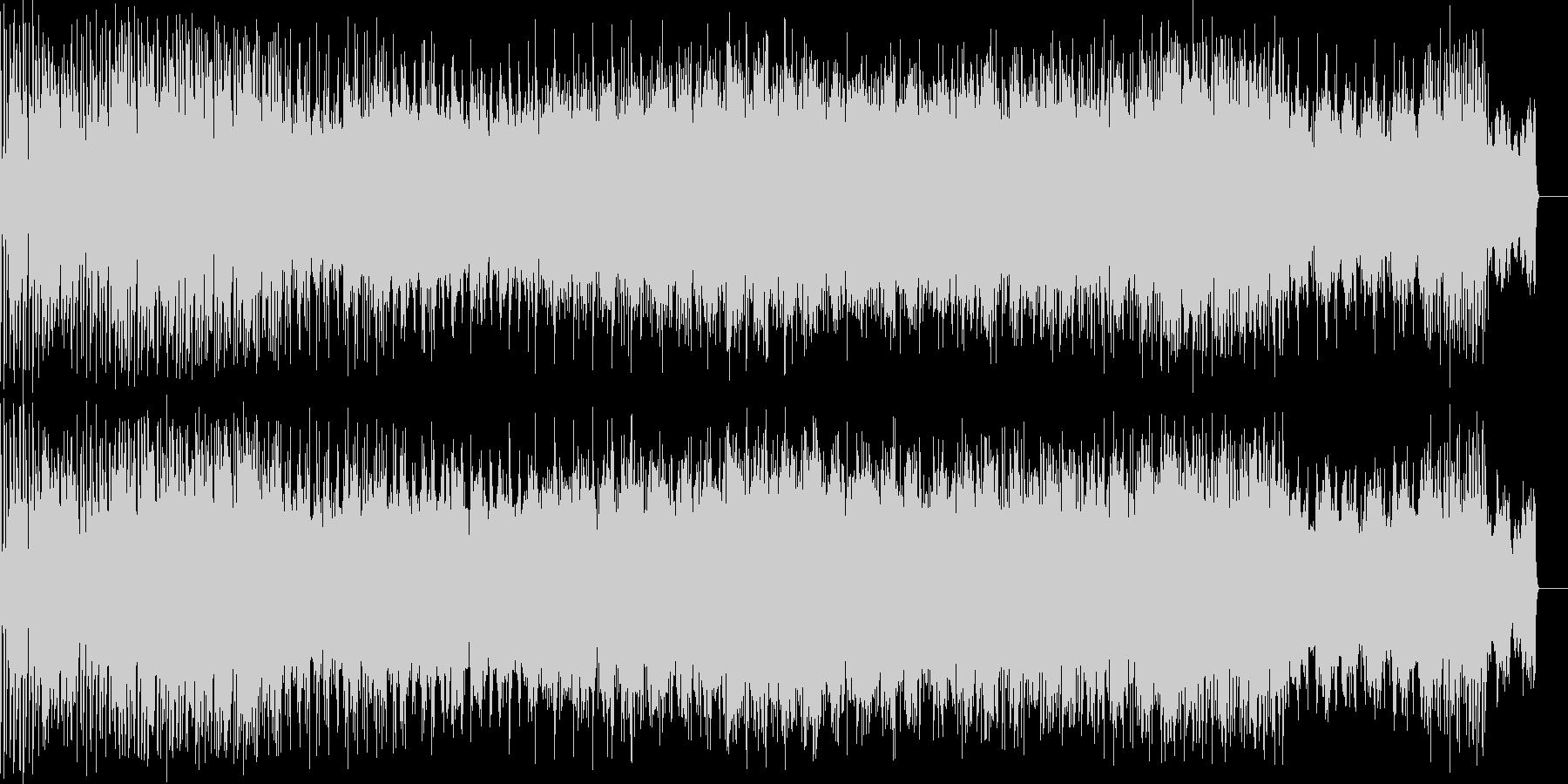 ダウンテンポにノイズを絡ませた曲 かっ…の未再生の波形