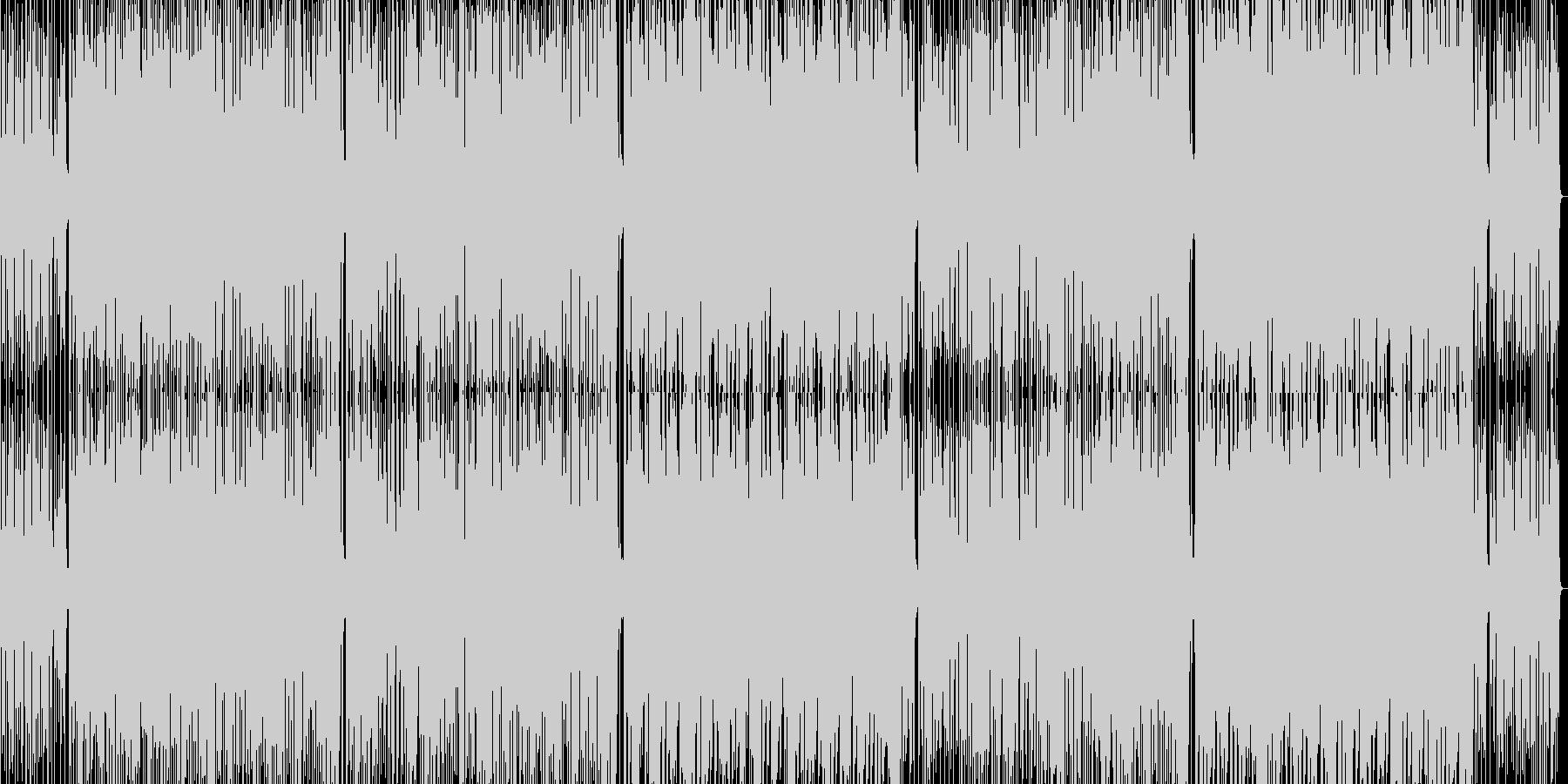 スラップ アコギの未再生の波形