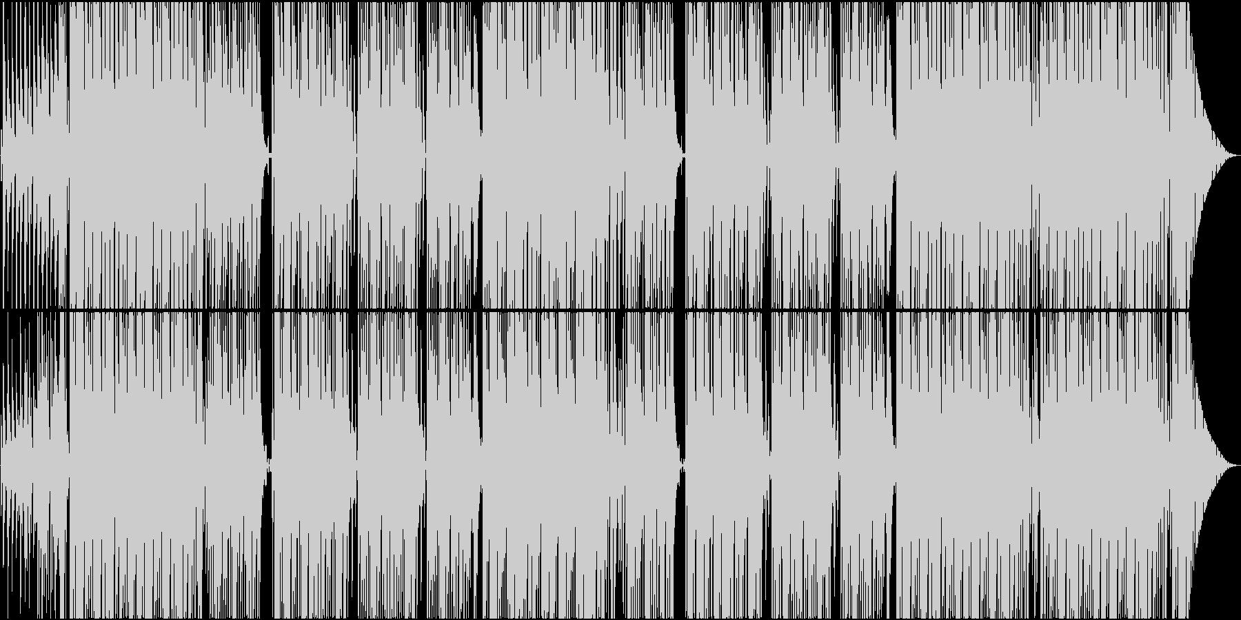 シンセベースに哀愁のピアノラインが印象的の未再生の波形