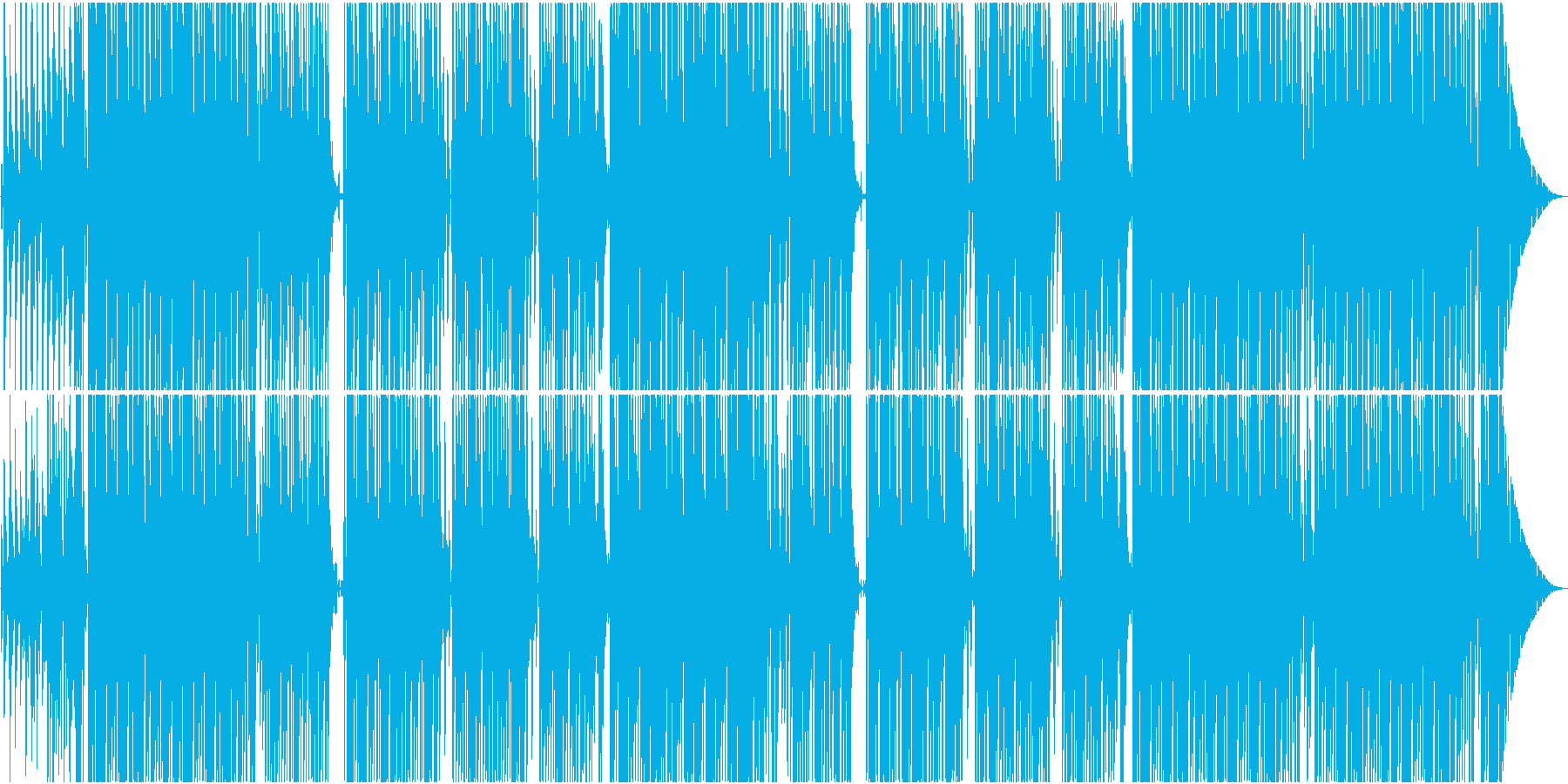 シンセベースに哀愁のピアノラインが印象的の再生済みの波形