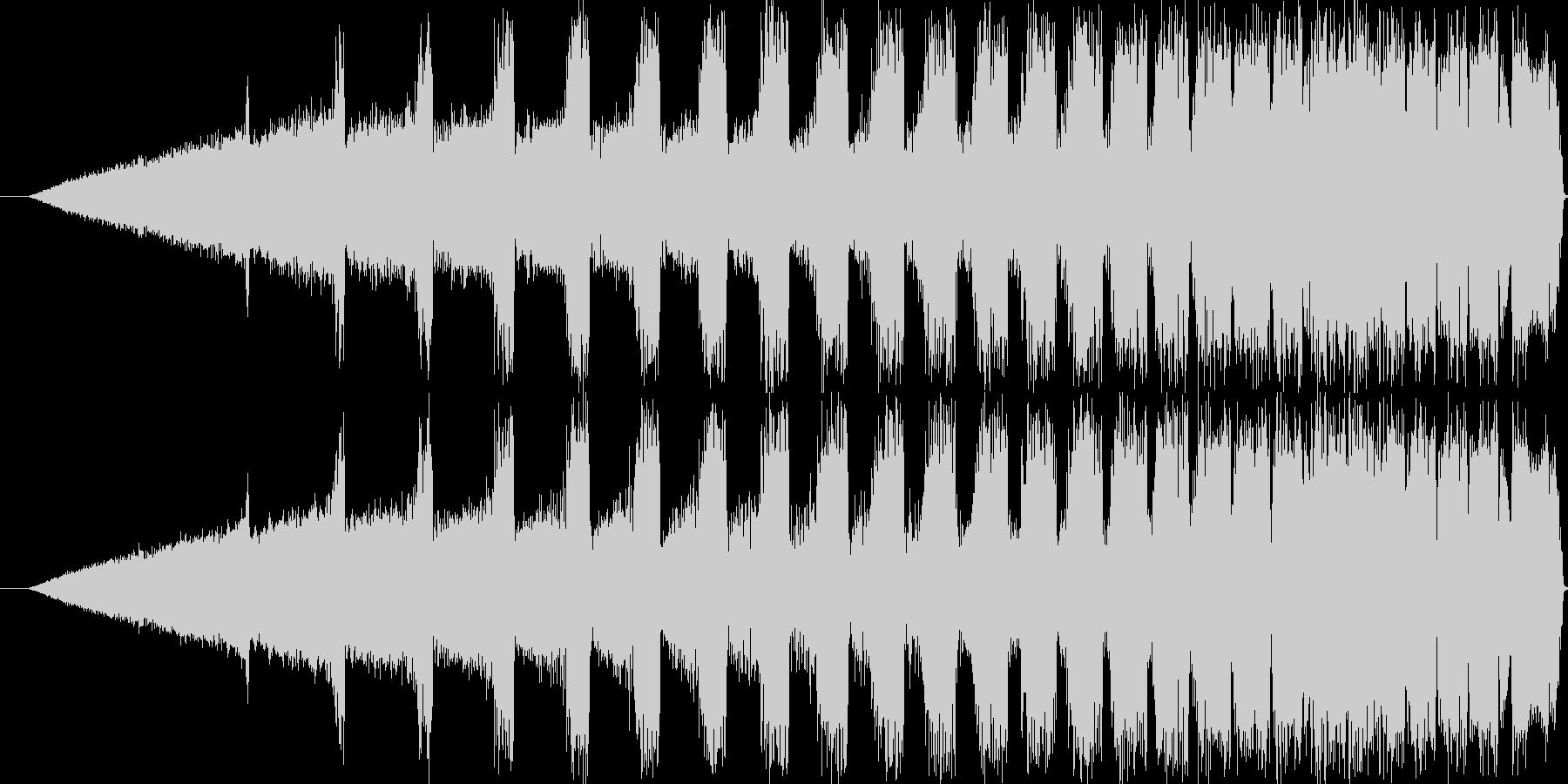 【ぴよぴよぴよ/電子音/機械/未来】の未再生の波形