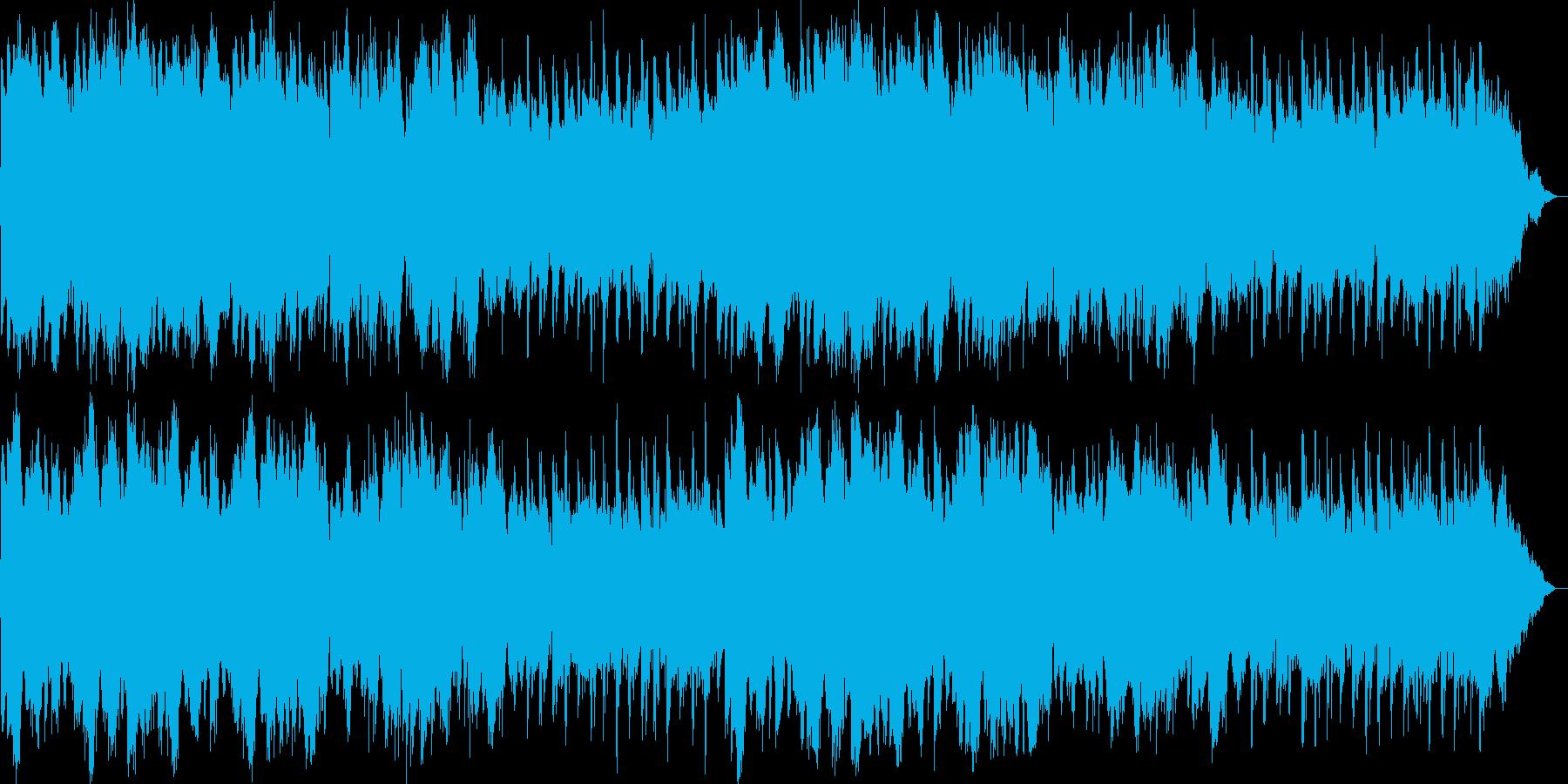 柔らかく幻想的なイージーリスニングの再生済みの波形