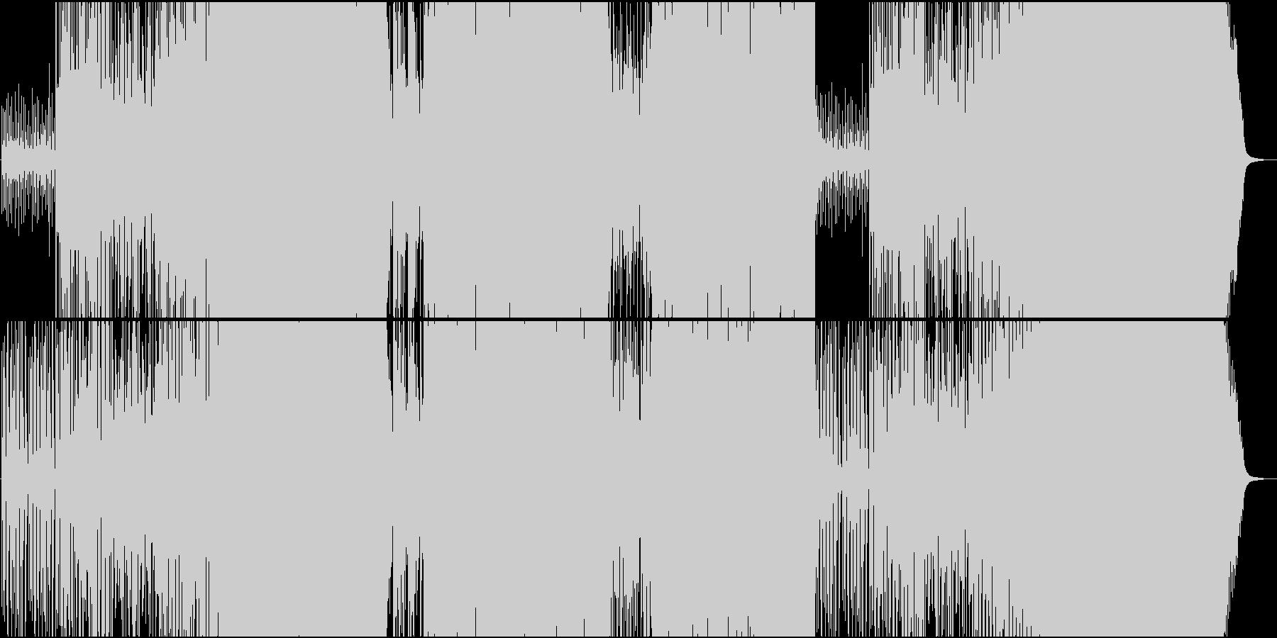 マンドリンが楽しい速めのケルト民謡の未再生の波形