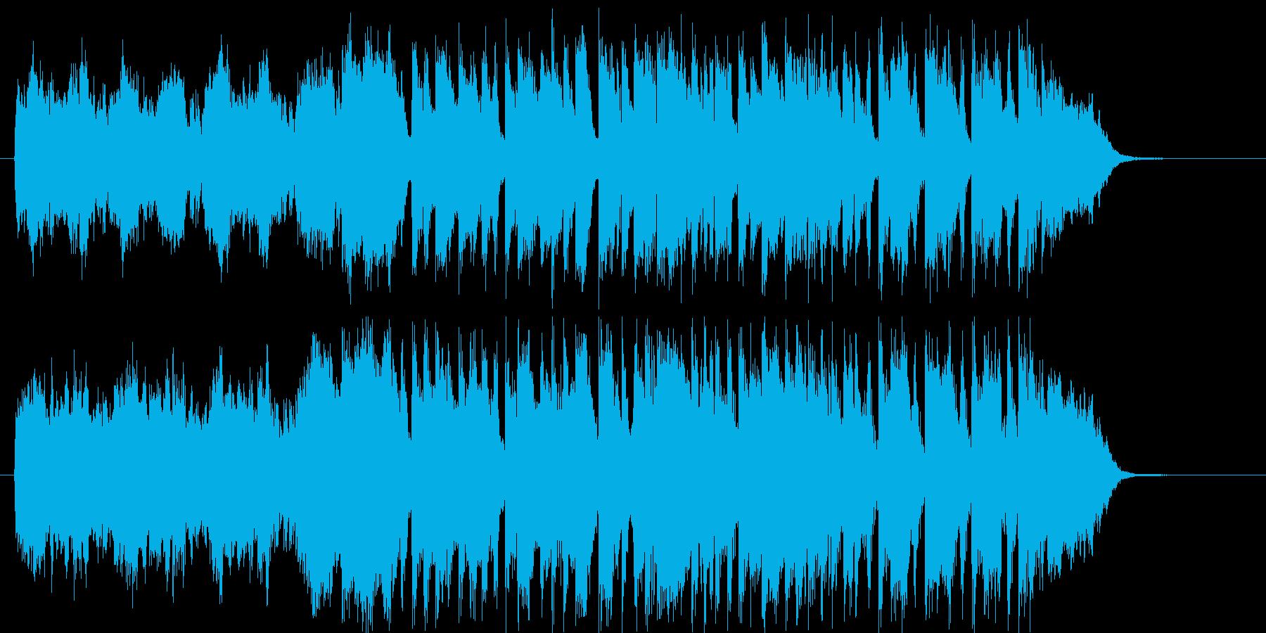 上品で穏やかなバラードの再生済みの波形