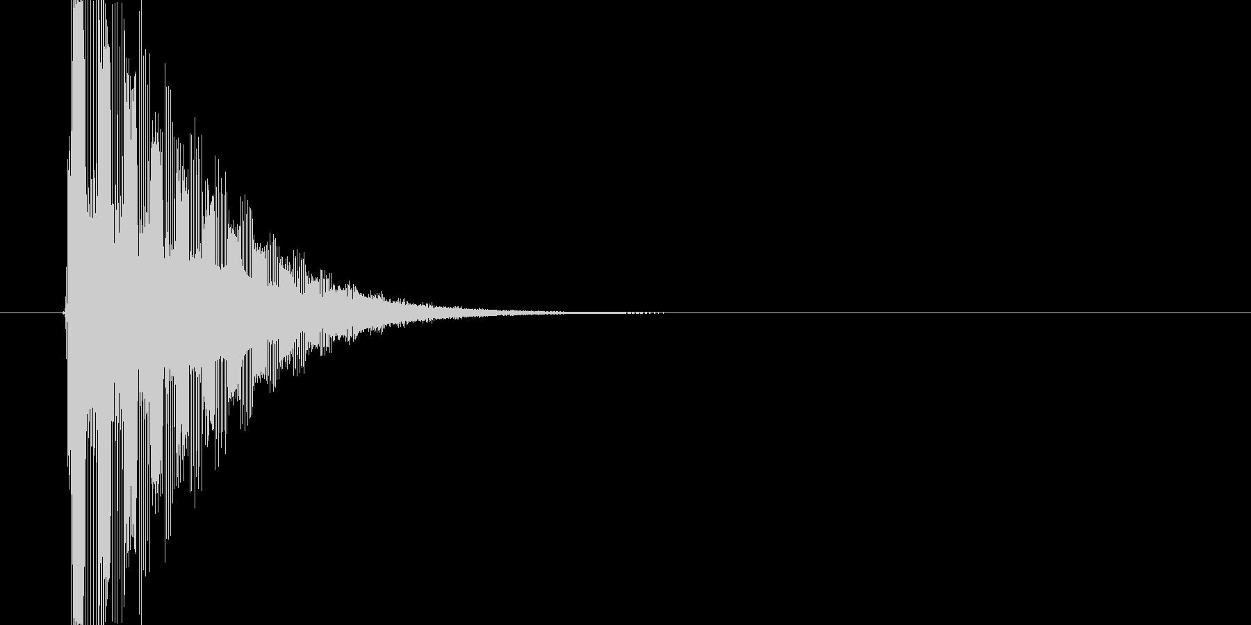 ぴゅるるるーん↑(ワープ、場面転換)の未再生の波形