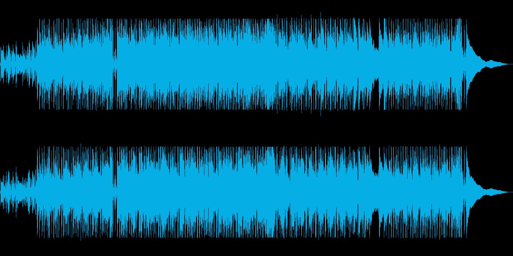 大人な雰囲気のシックなギターサウンドの再生済みの波形