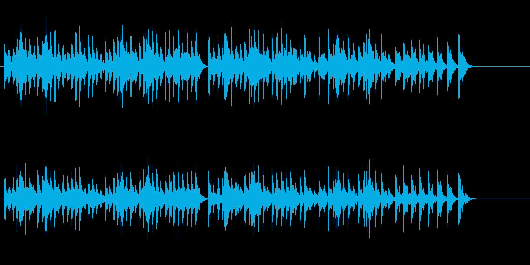 オルゴール風人情演歌メロディの再生済みの波形