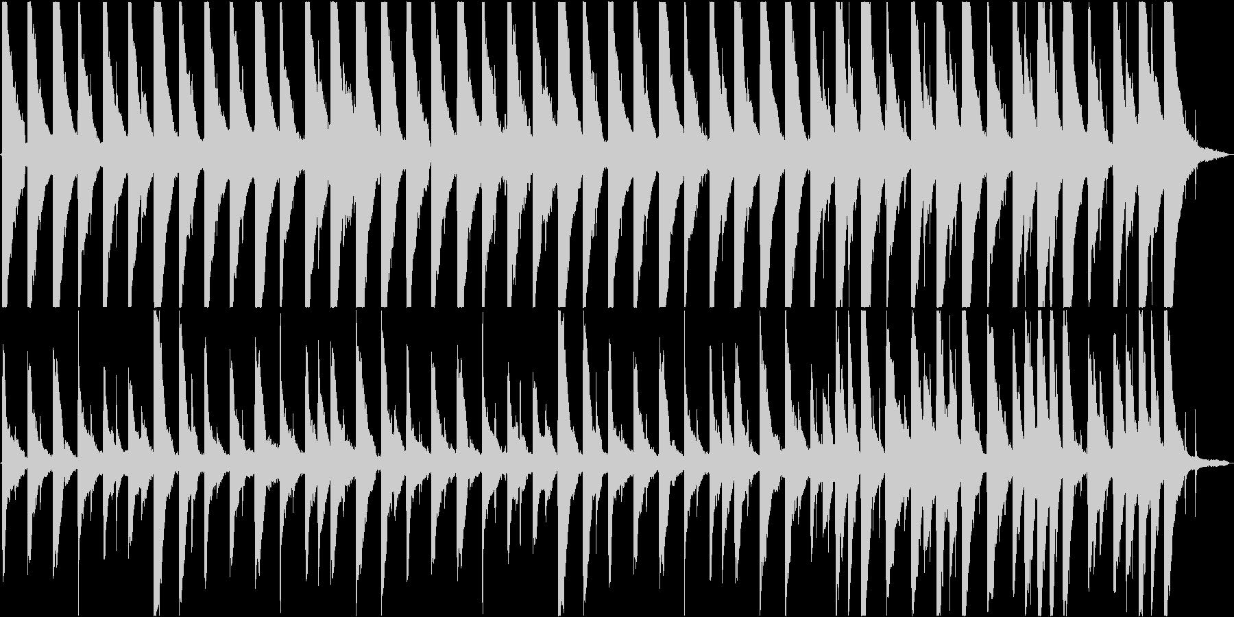 悲しい曲。の未再生の波形