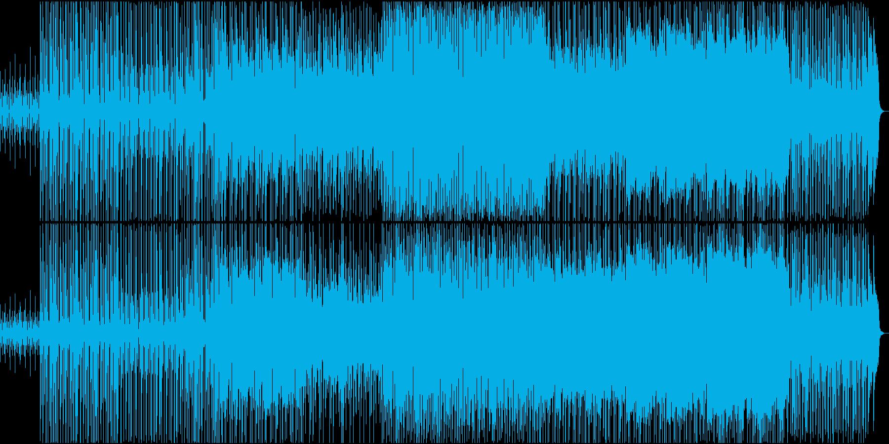 華やかで祝福の雰囲気の音楽の再生済みの波形