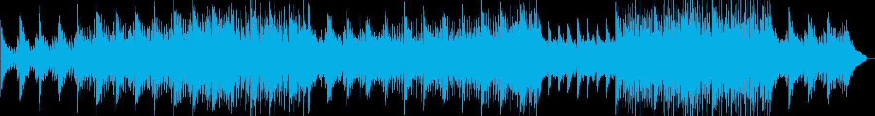 オーガニックなイメージのポップスの再生済みの波形