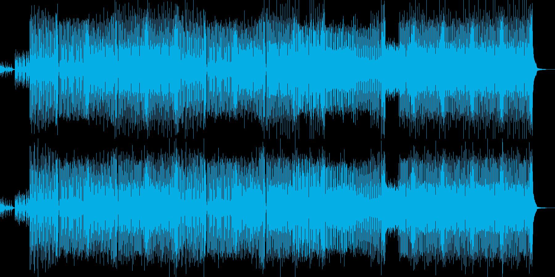 90年代な曲ですの再生済みの波形