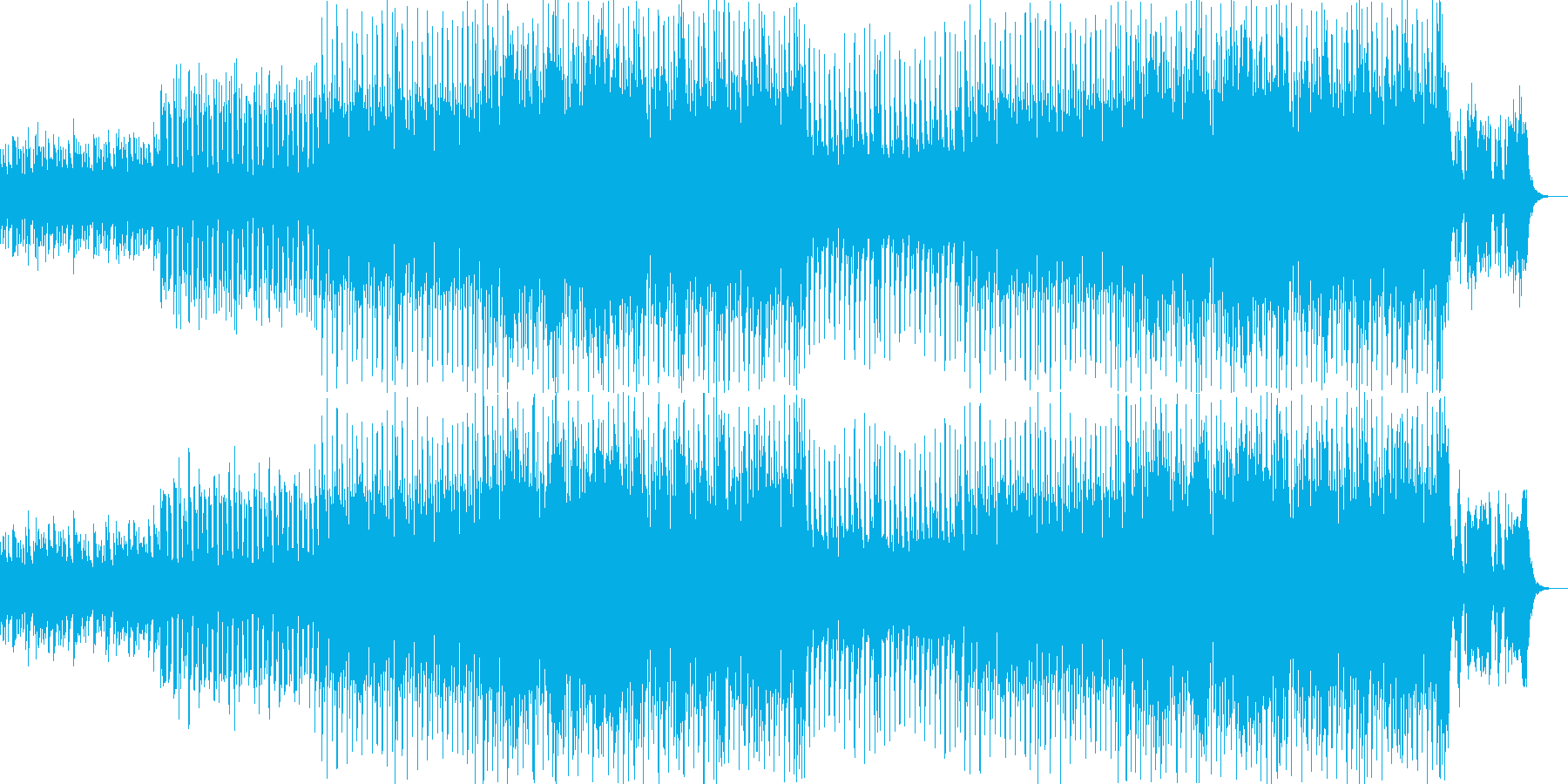 明るく爽やかなオーケストラポップ-15の再生済みの波形