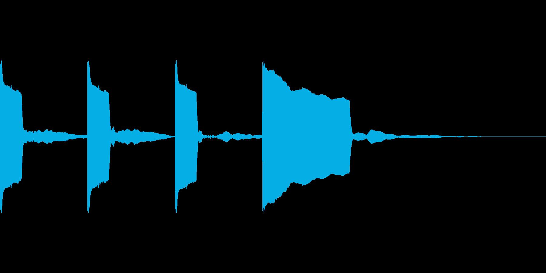 カウントダウン3.2.1.Go!!の再生済みの波形