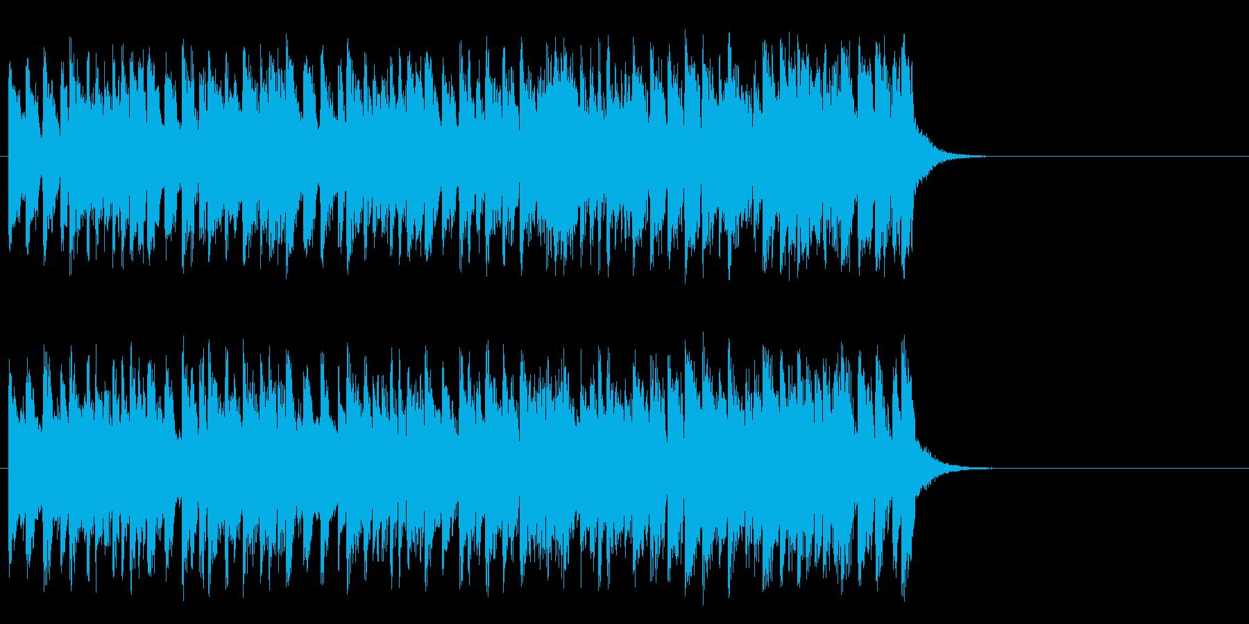 颯爽と繰り出す軽妙ポップ(イントロ)の再生済みの波形