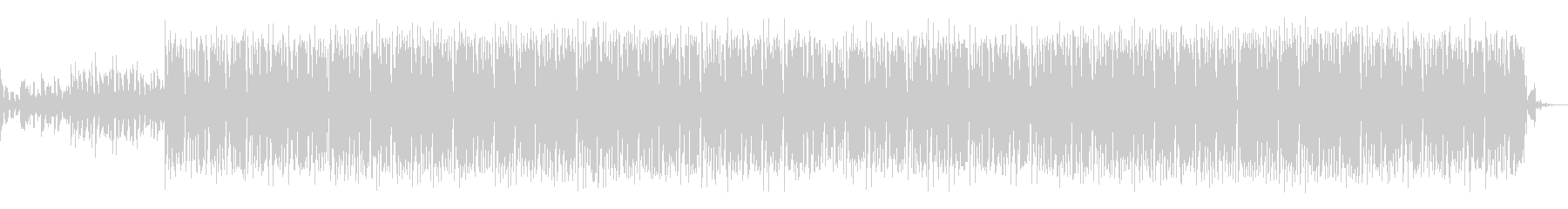 House track 01の未再生の波形