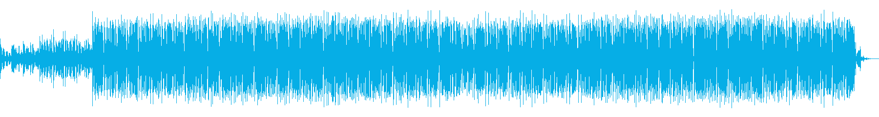 House track 01の再生済みの波形