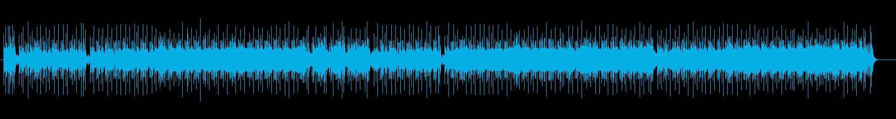 ラテン系ギター・フュージョンの再生済みの波形