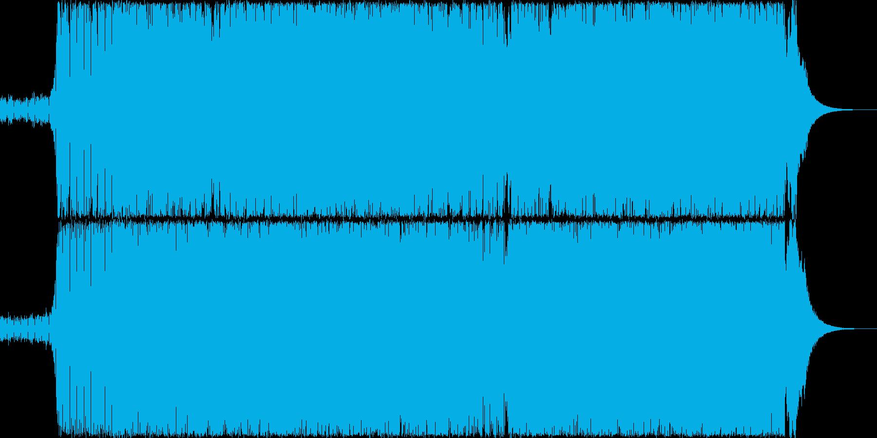 シンプルなトランスですの再生済みの波形