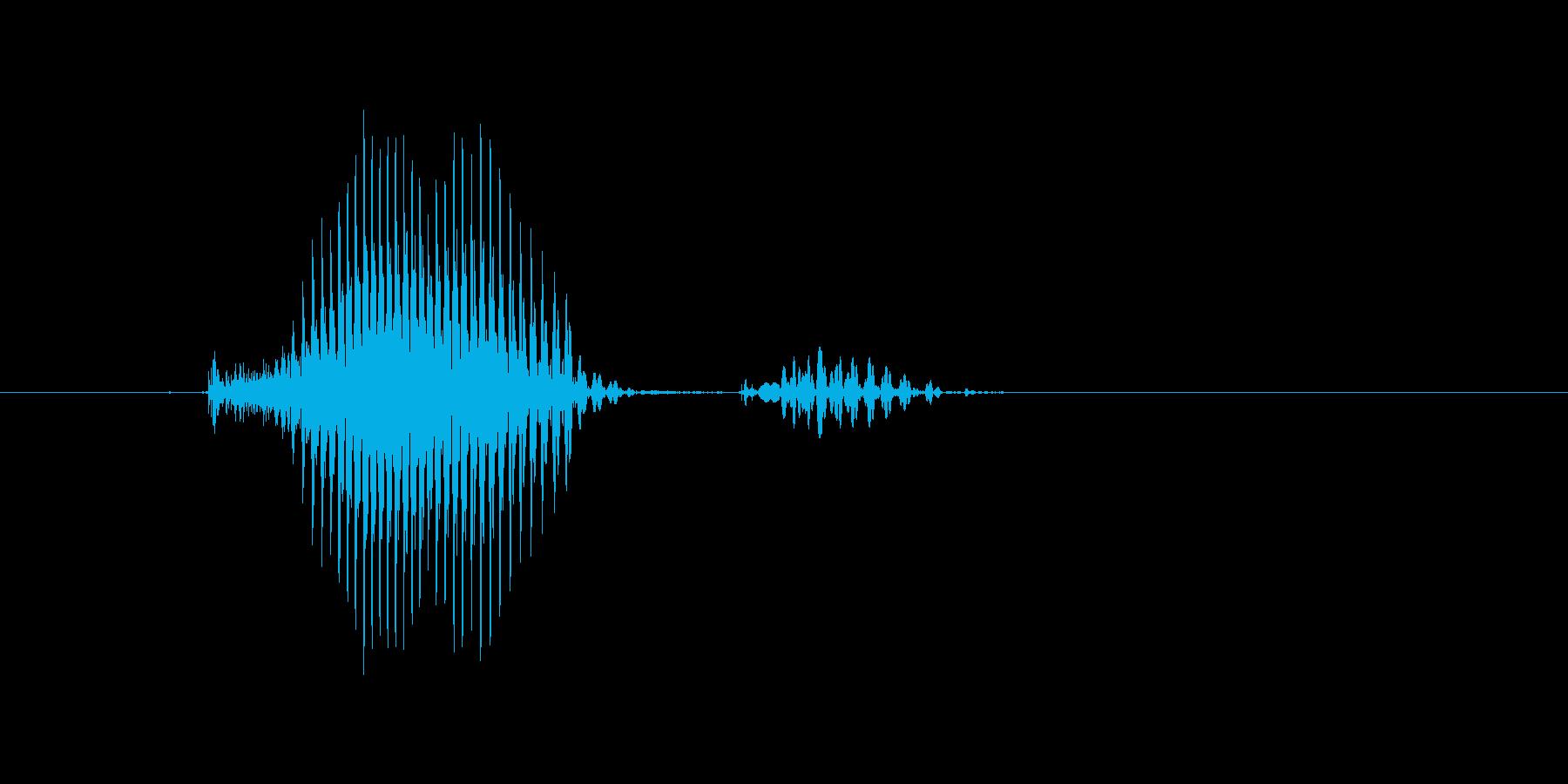 キープの再生済みの波形