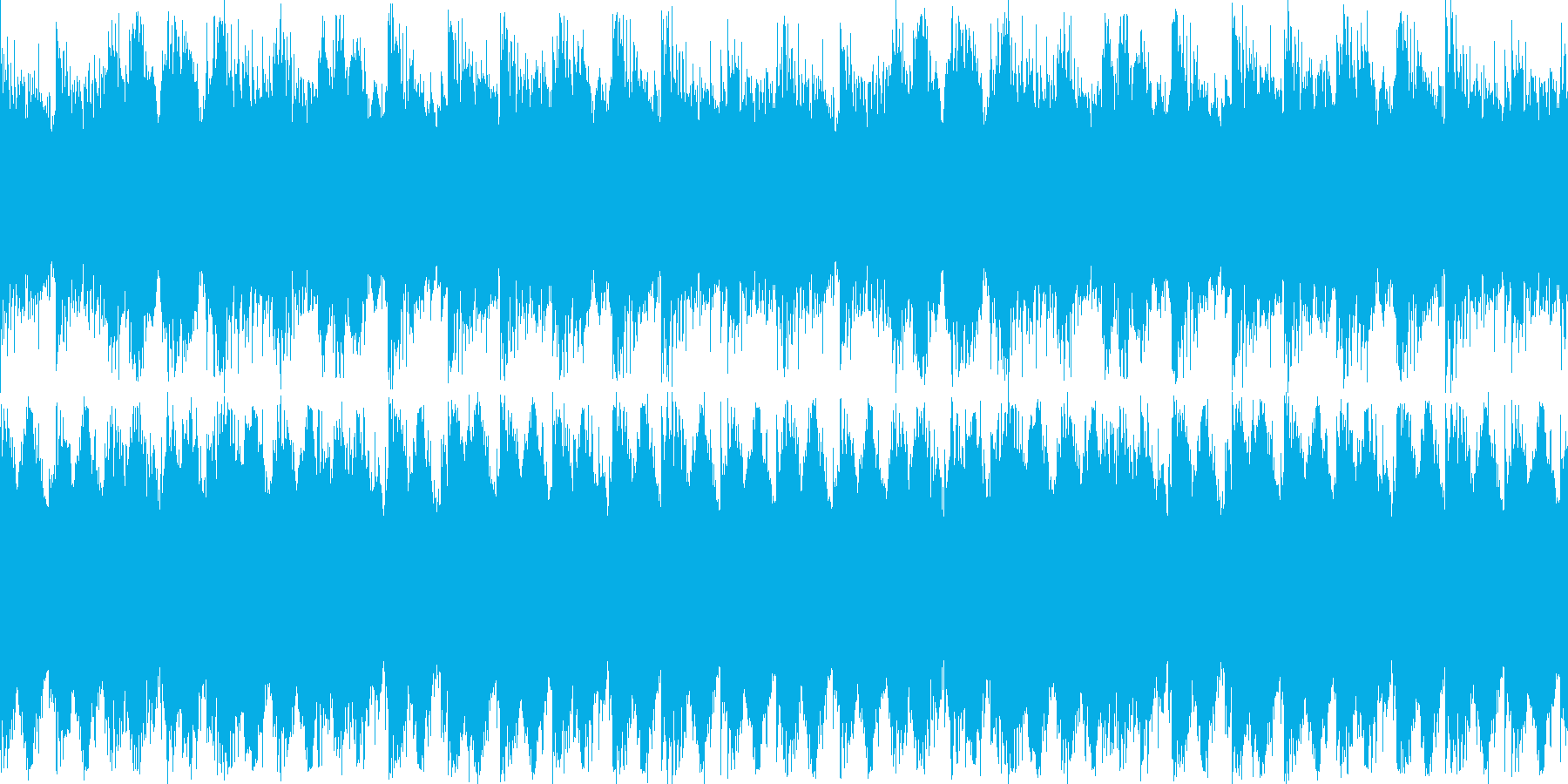 ファンタジーやホラー系などの不気味なシ…の再生済みの波形