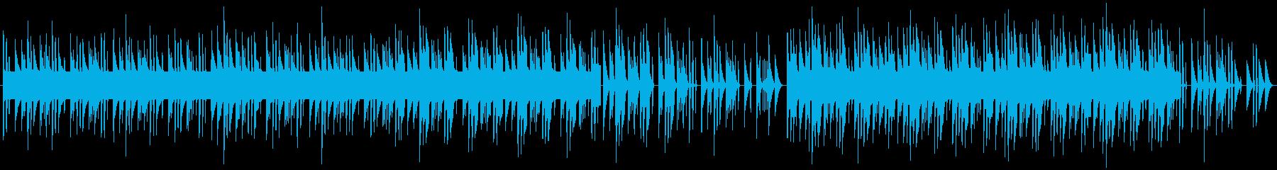 ファミコンゲーム風ピコピコBGMの再生済みの波形