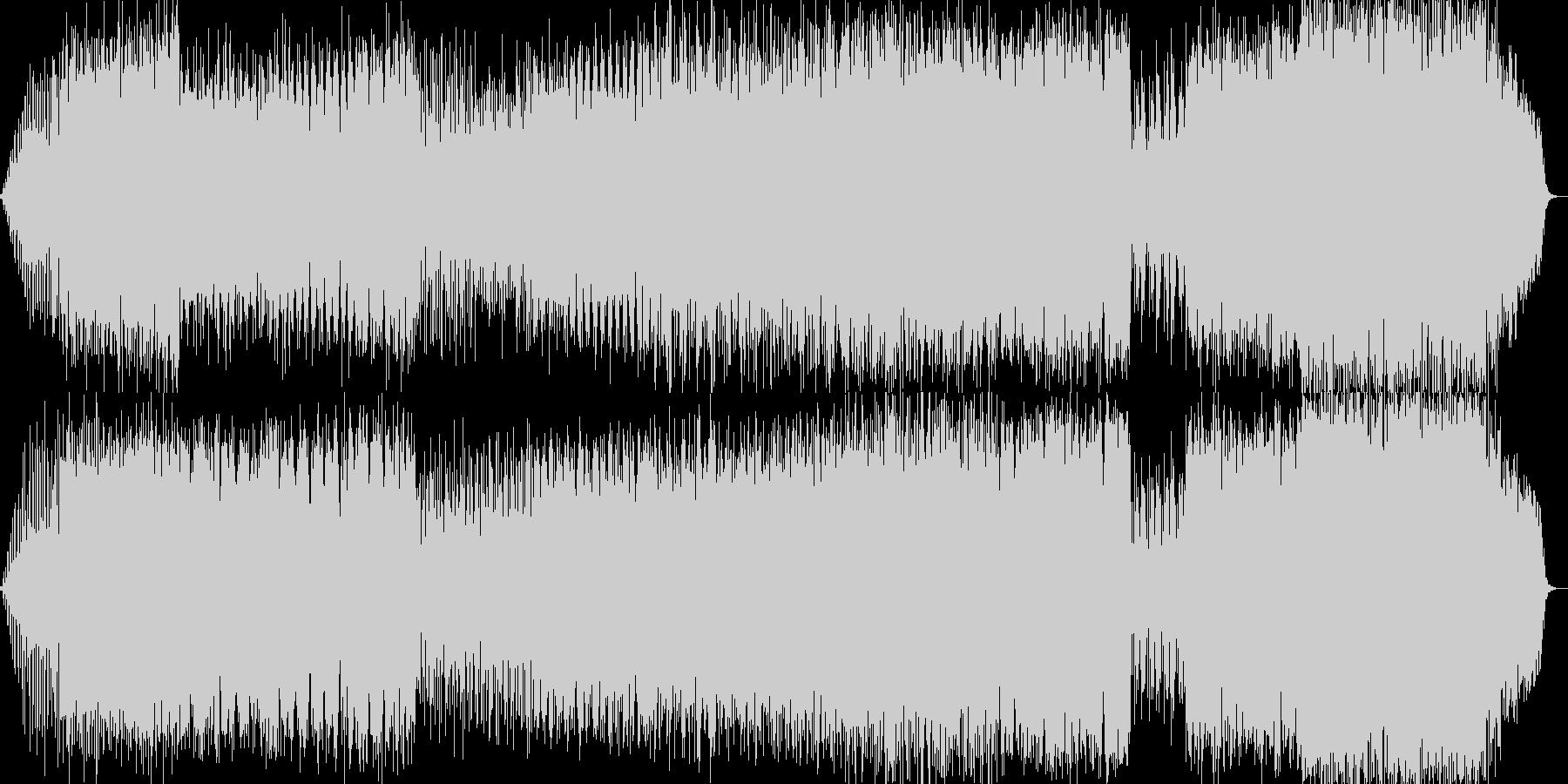 幻想的に水面の波紋をイメージしたBGM…の未再生の波形