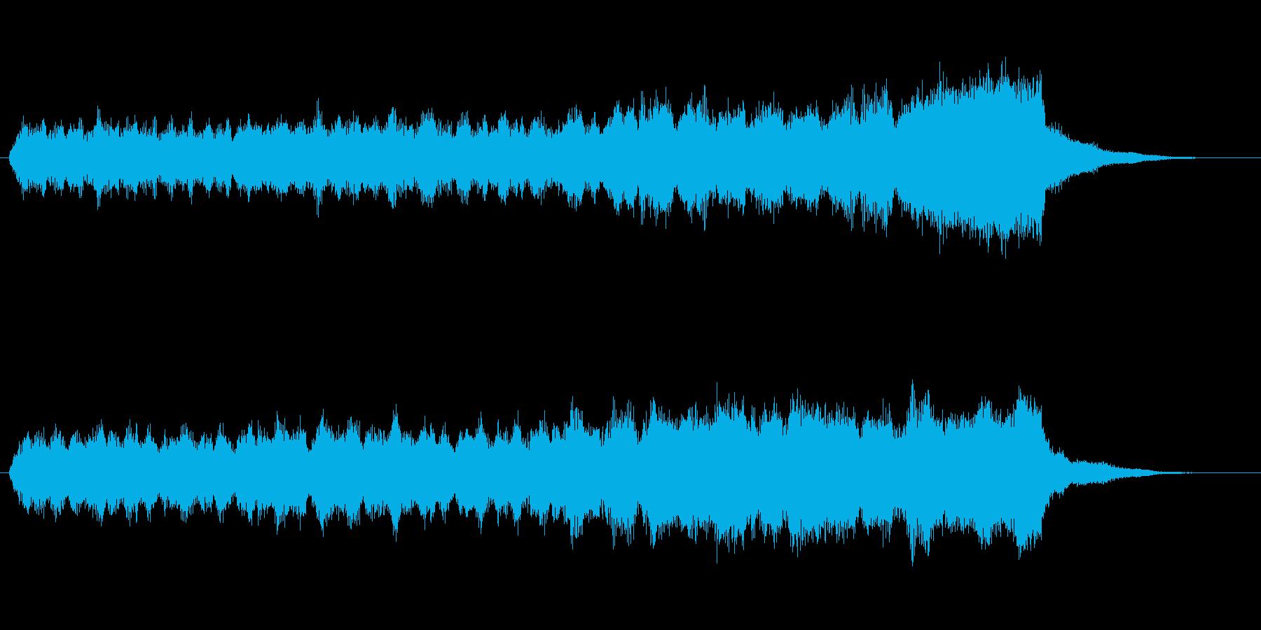 パイプオルガンによるジングルです。の再生済みの波形