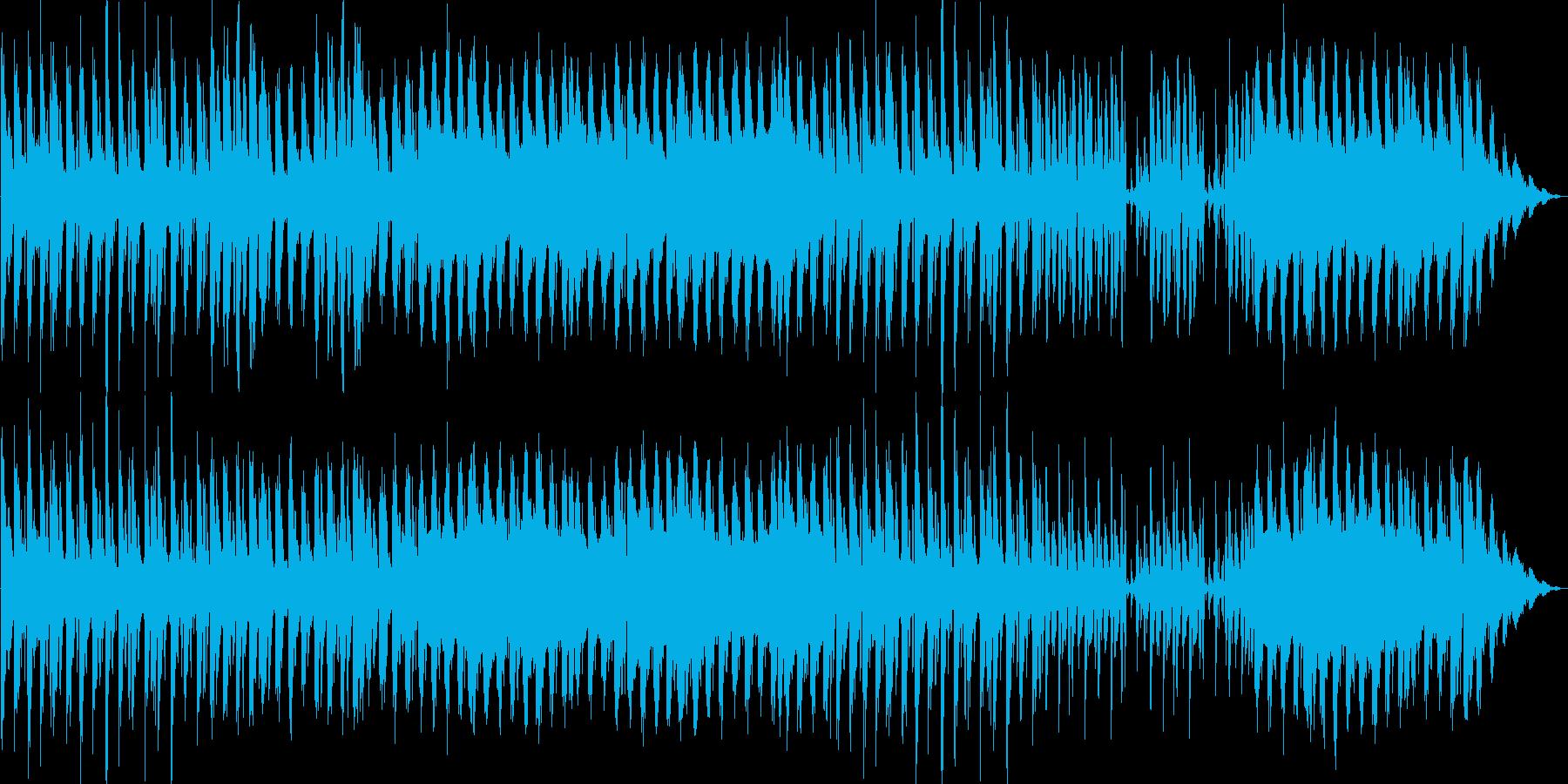 四つ打ちのシンセ系、JAZZな響きの再生済みの波形