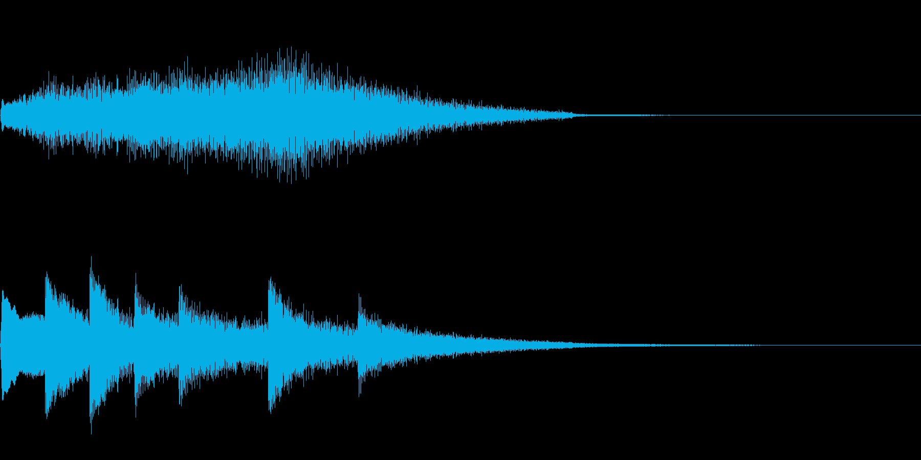 サスペンス 新たな謎の再生済みの波形