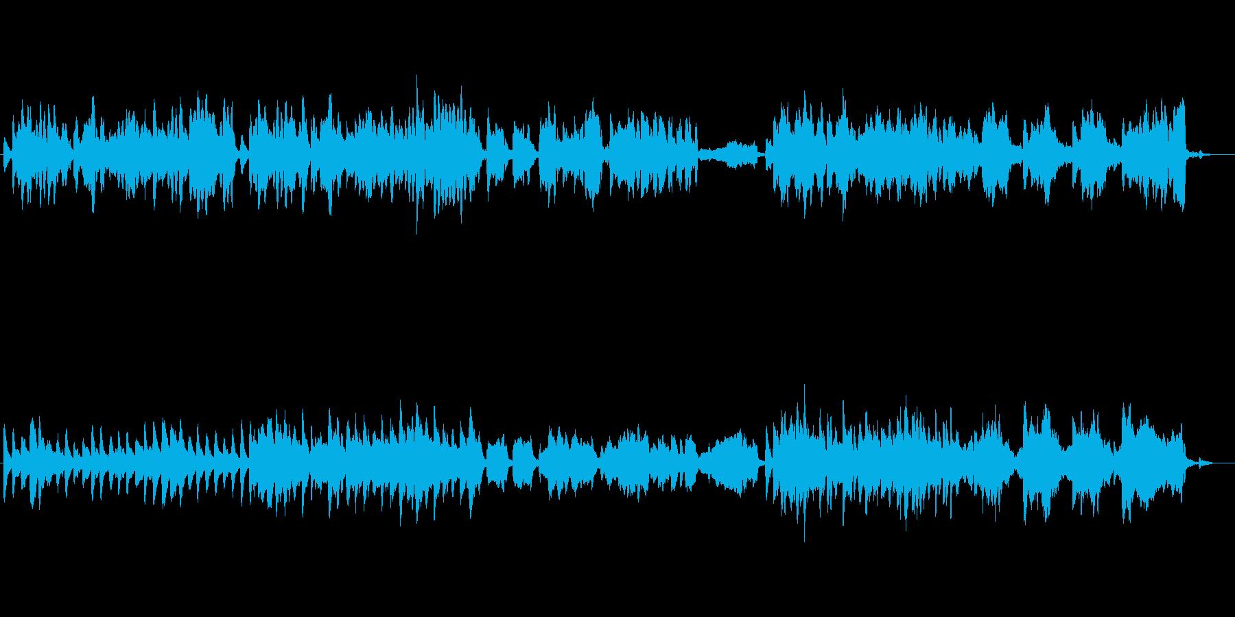 日常 お城 ほのぼの ファンタジーBGMの再生済みの波形