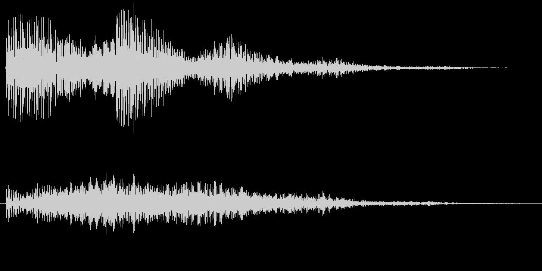 ビュオーン(ワープ、不気味、謎)の未再生の波形