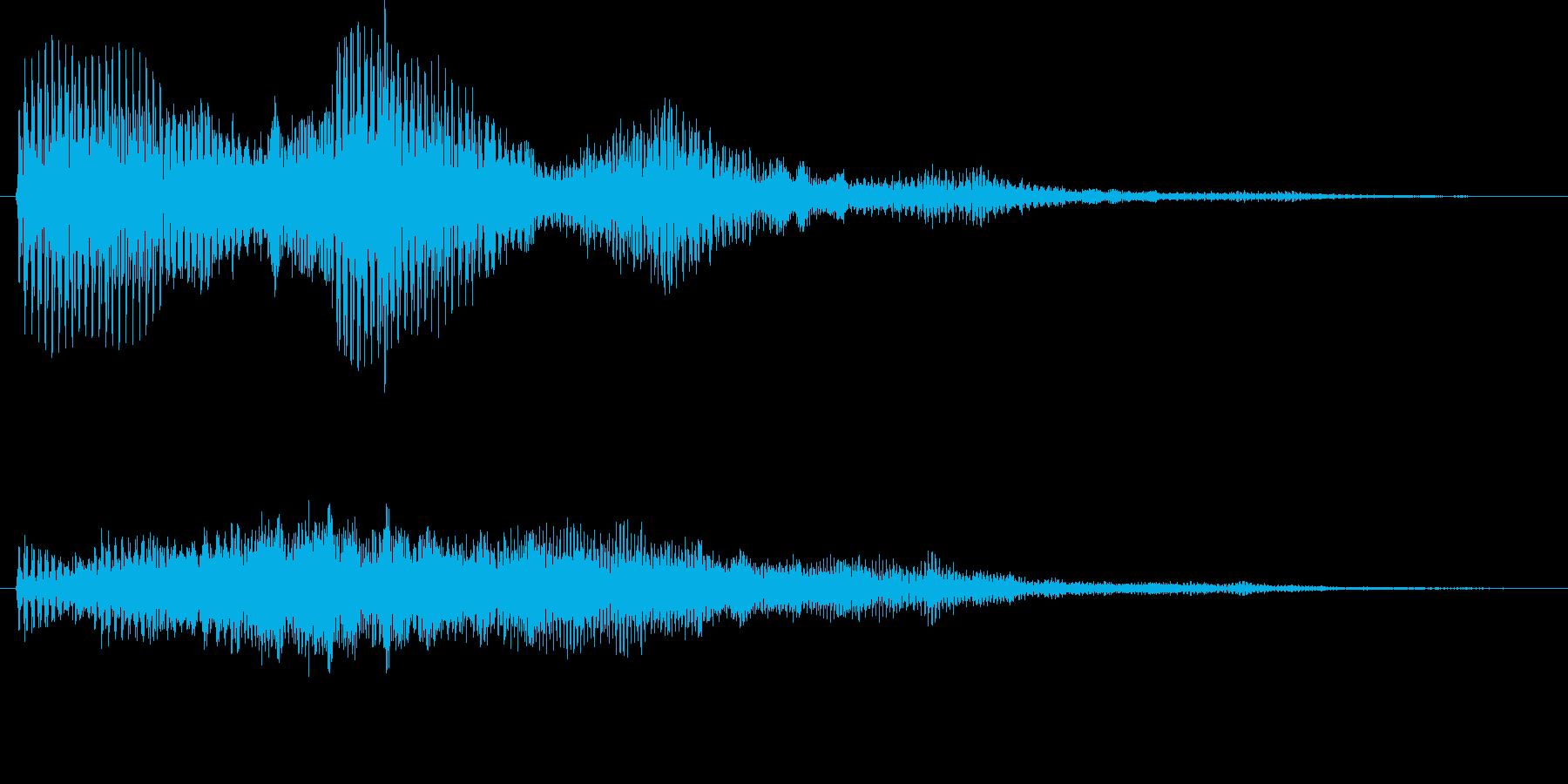 ビュオーン(ワープ、不気味、謎)の再生済みの波形