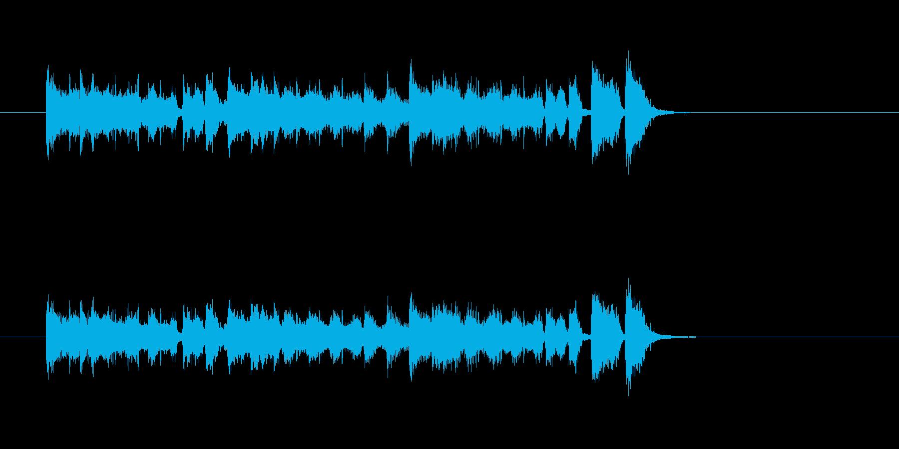 トランペット 明るい ポップ パワフルの再生済みの波形